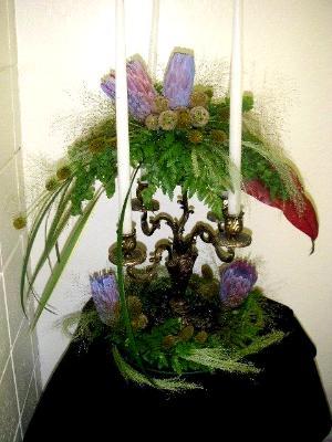 cangle floral arrangement