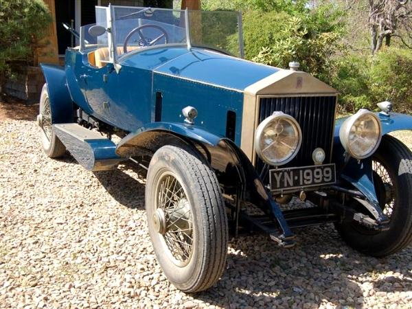 Vintage classic car collection of architect Fred Bainbridge
