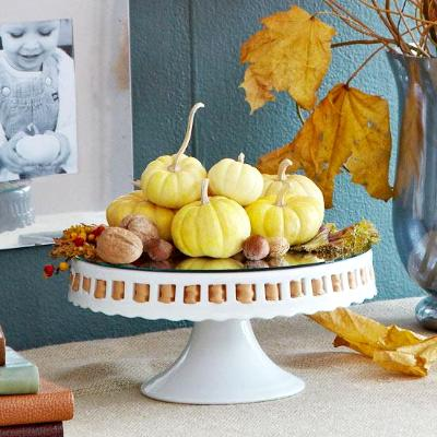 Pumpkin decoration, photo credit: Better Homes and Gardens
