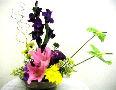 Ikebana Arrangement Intermediate Course