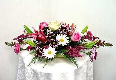 Wedding Head Table Arrangement