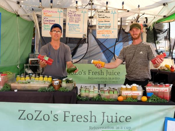 Zozo's Fresh Juice
