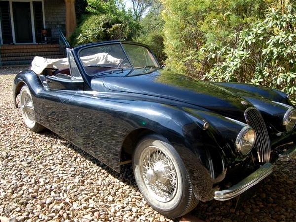 1953 Jaguar Xk 120 Dhc