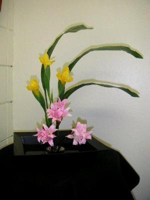 Ikebana Arrangement Elementary Course