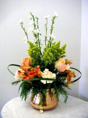 Fresh Flower Arrangement Elementary Course