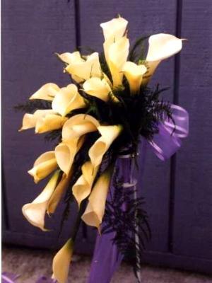 cascade type bouquet