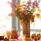 Fall leaf arrangement