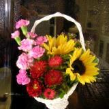 Basket Floral Arrangement