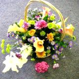Basket Floral Arrangement