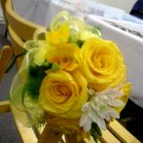 Chair Back Floral Arrangement