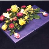 Gift box flower arrangement