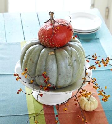pumpkin arrangement, photo credit: Better Homes and Gardens