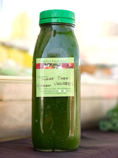 Sweet Dark Green Veggies